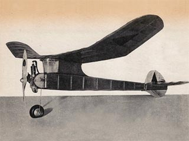 Ay-Jay (oz6813) by Dave Lewis from Model Airplane News 1947