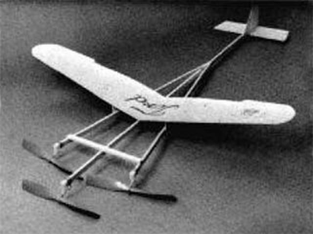Tenderford (oz6823) by Bill Hannan from American Aircraft Modeler 1971