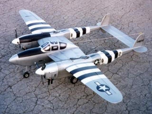 Lockheed P-38 Lightning (oz6849) by Hal Parenti from Wing Mfg