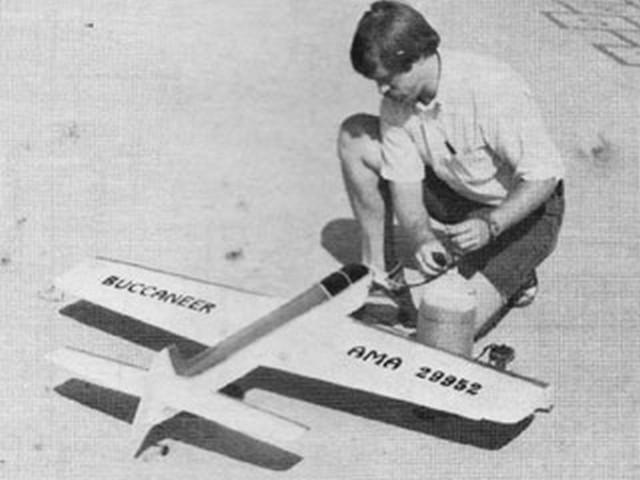 Buccaneer 46 (oz6874) by Allen Brickhaus from Model Airplane News 1981