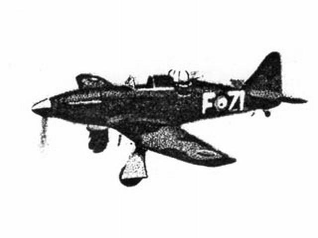 Boulton Paul Defiant (oz6888) from Frog 1940