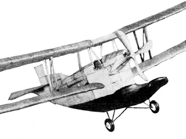 Loening C-2 Air Yacht (oz6900) by Thomas L Bulger from Model Airplane News 1929