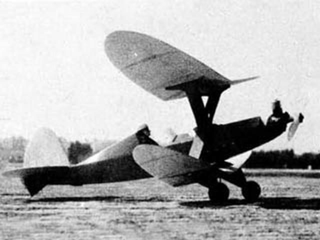 Bi-Playne (oz6901) by George Woolls from Flying Models 1960