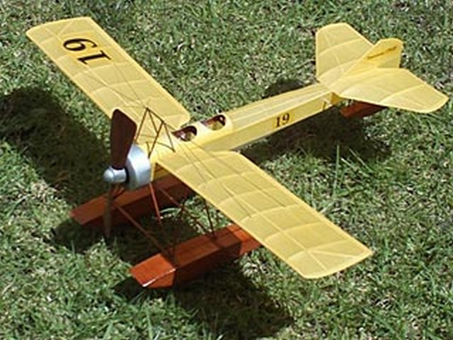 Deperdussin 1913 Racer (oz693) from Flying Aces 1937