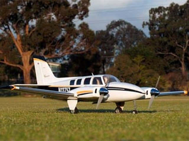 Beechcraft Baron 58P (oz6940) from Royal Marutaka