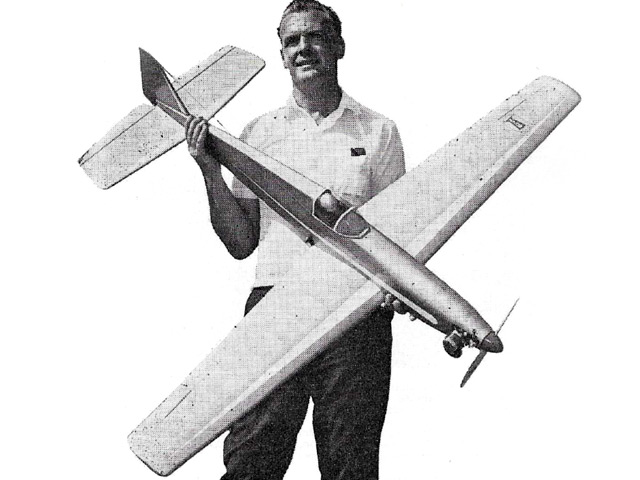 Henchman 60 (oz6942) by Maurice Franklin from Model Airplane News 1967