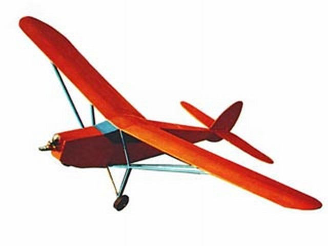 Balsa Bug (oz6945) by John Valls from RCMplans 1993