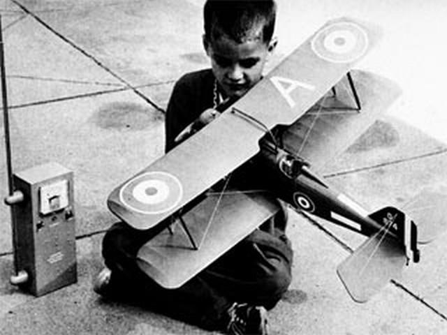 Se5a (oz6959) by Paul Palanek from Flying Models 1960