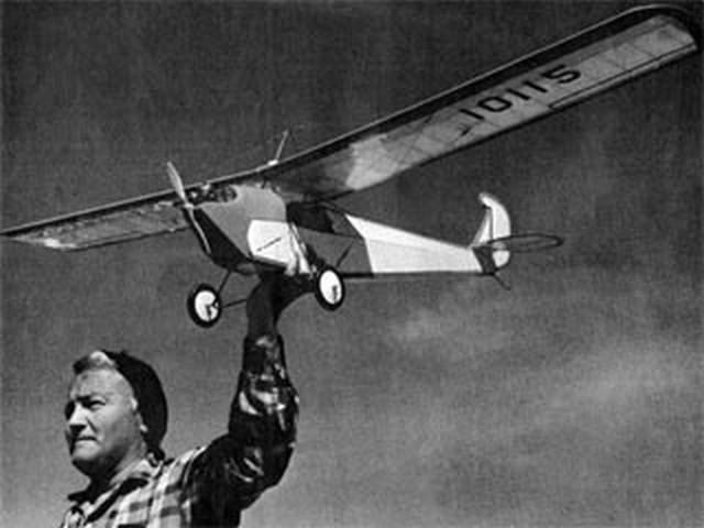 Longster (oz6961) by Robert Harrah from American Aircraft Modeler 1971