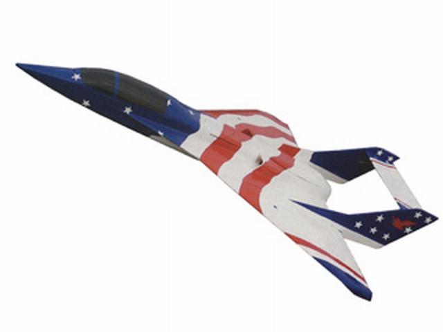 Eagle V - completed model photo