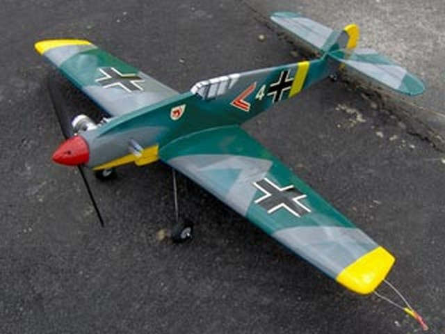 Me 109 (oz6975) by Sergio A Daeuble from Aerobras
