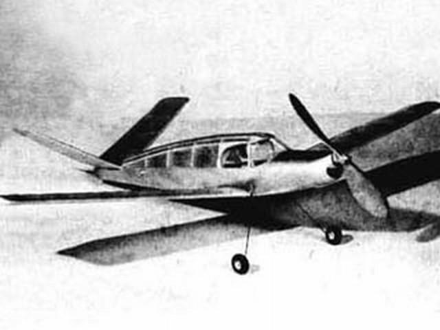 FM Ranger (oz6994) by HA Thomas  from Flying Models 1950