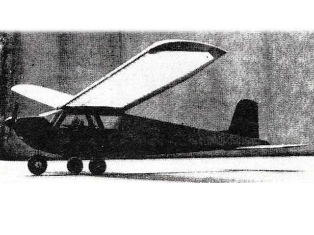 Rudder Bug (oz7009) by Walt Good from Model Airplane News 1949