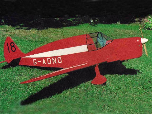 DH TK2 (oz7012) by Dennis Tapsfield from RCMplans 1993