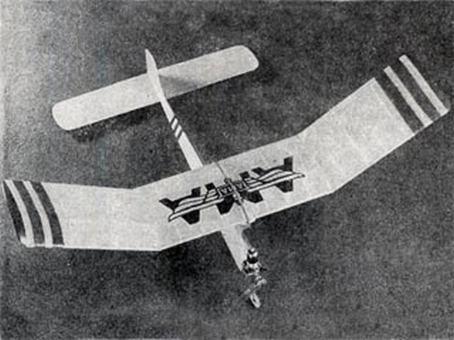 Stinger (oz7027) by Roland Mayer from Model Airplane News 1950