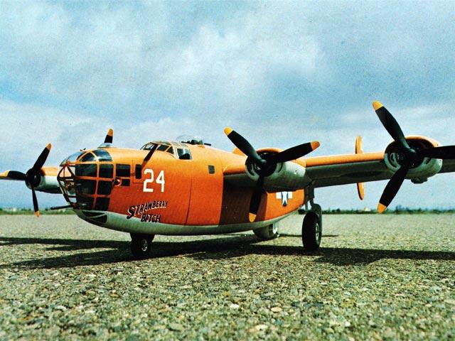 B-24 Liberator (oz7070) by Jack Stafford from Jack Stafford Models