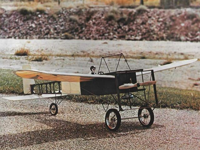 Bleriot XI (oz7097) by MRM from Royal Marutaka