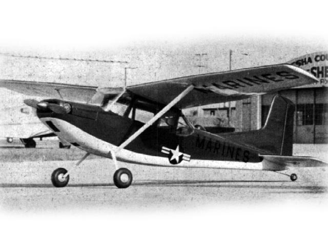 Cessna OE-2 (oz7101) by Bob Wischer from American Modeler 1962