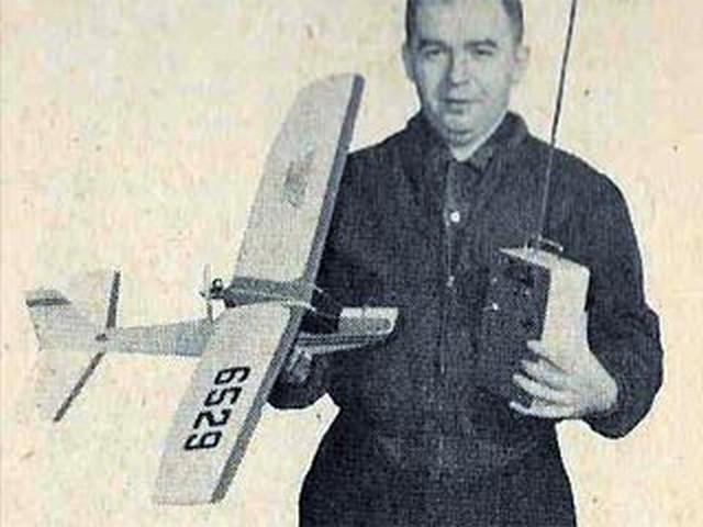 Styro-Mite (oz7103) by Aubrey Kochman from American Modeler 1961