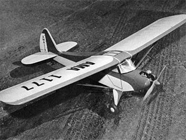 Porterfly (oz7139) by Herb Clukey from American Modeler 1967