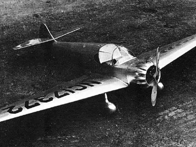 Ryan SC (oz7151) by Martin Carlidge from American Aircraft Modeler 1972