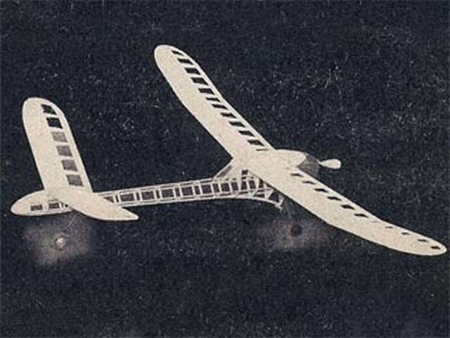 Cub Canard (oz7155) by Paul Del Gatto from Flying Models 1950