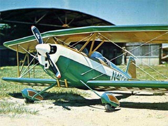 Senior Aero Sport (oz7156) by Mark Frankel from American Aircraft Modeler 1975