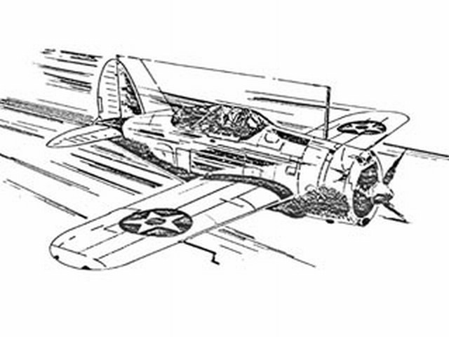 Brewster F2A-1 (oz7162) from Ace Whitman 1939