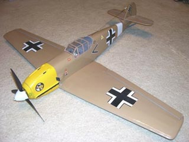 BF-109  - completed model photo