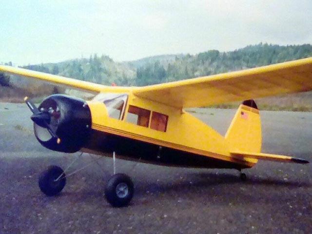 Dennyplane Junior (oz7164) by Fred Hardy, Bill Zuelich from 4K Models, Midway Model Co 1985