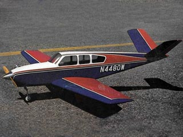 Beech Bonanza V35A (oz7173) by Dan Reiss from Flying Models 1981