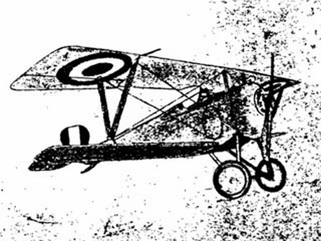 Nieuport 17 Scout (oz7176) by Wallace Norman from Designaplane