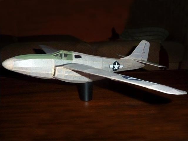 Bell P-59 Airacomet - completed model photo