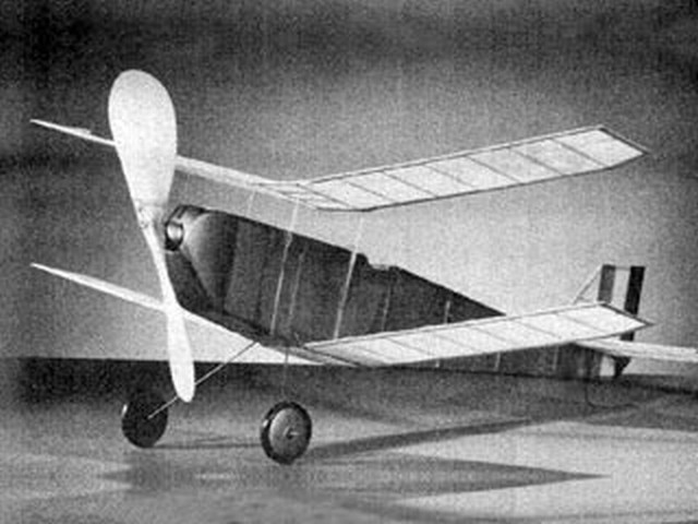 Sure Flier (oz7206) by Sherman Gillespie from Model Airplane News 1953