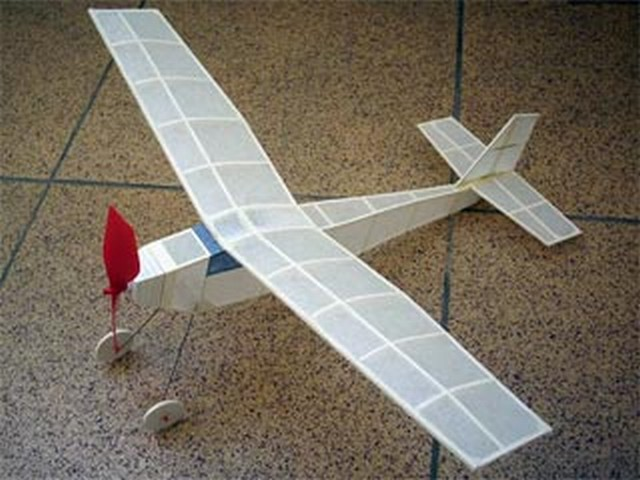 Yard Bird (oz7207) by Sherman Gillespie from Model Airplane News 1954