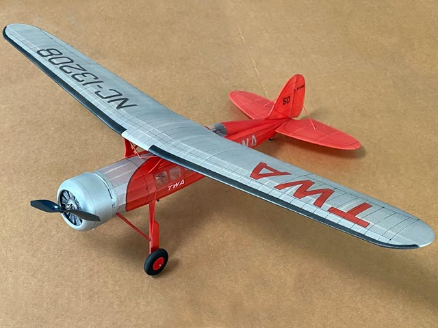 Consolidated Fleetster (oz7208) by Joseph Battaglia from Model Airplane News 1937