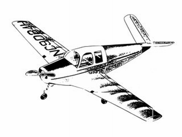 Beechcraft Bonanza (oz7213) from Ace Whitman 1948