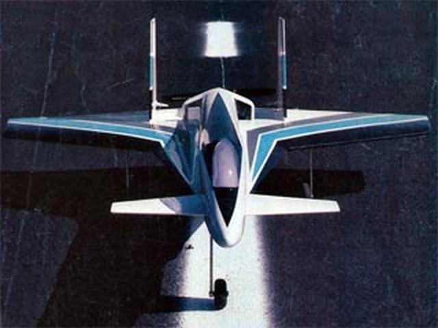 Crusader II  (oz7219) by Steven J Ellzey from RCMplans 1988