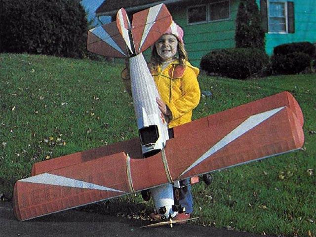 Fleet Bipe (oz7237) by Gary E. Brown from Model Aviation 1980