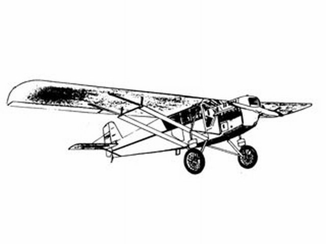 Curtiss Robin (oz7240) by Wallace Norman from Designaplane