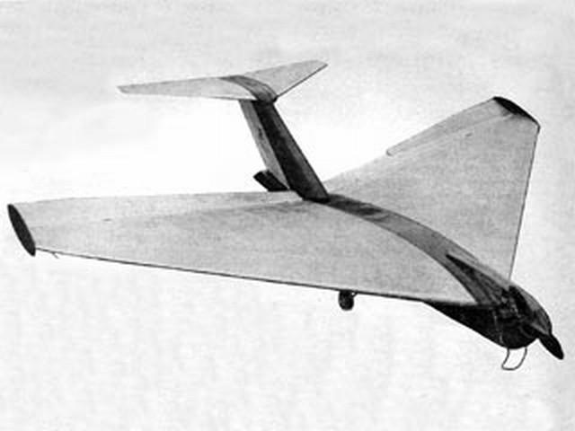 Vee-Dette (oz7270) by L Ellis from Model Aircraft 1955