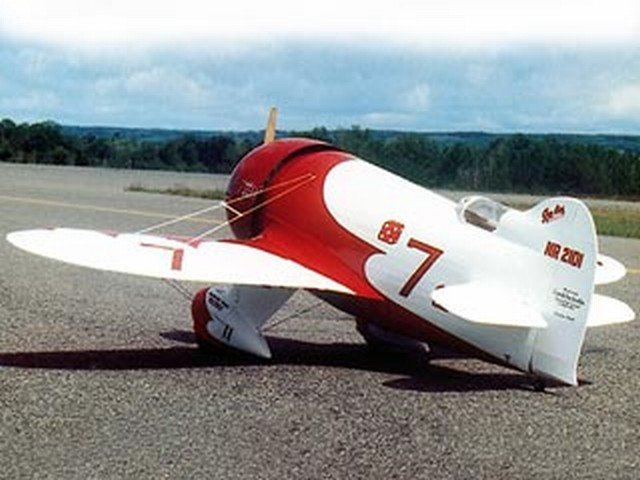 Gee Bee R2 (oz7330) by Adrian Page from RCMplans 2001