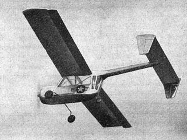 Boeing XL 15 (oz7344) by EC Martin from Aeromodeller 1950