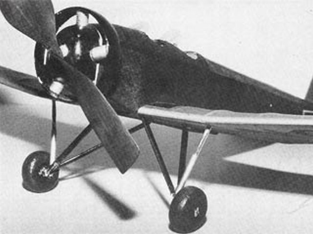 Aeromarine Klemm AKL-26-B - completed model photo