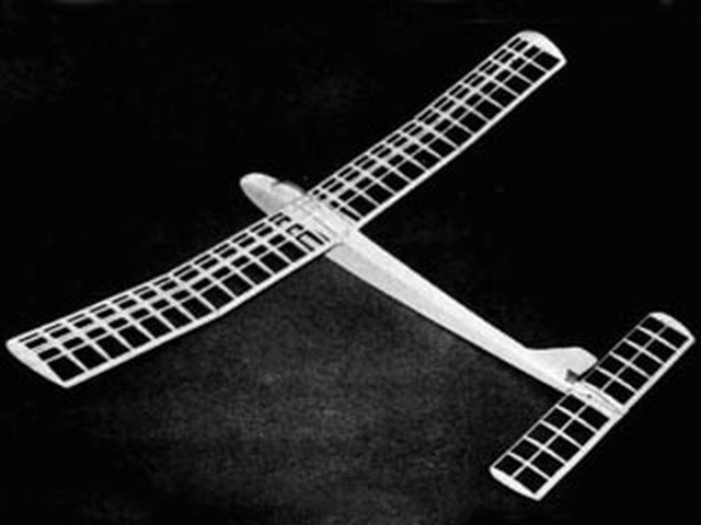 Aerogull (oz7352) by Clarence Mather from Flying Models 1958