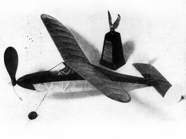 Simple Simon (oz7369) by DA Newell from Model Airplane News 1950