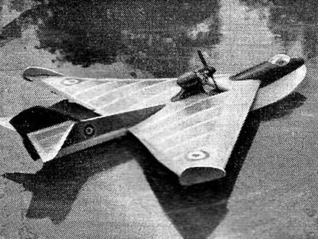 Sea King (oz7379) by L Ellis from Aeromodeller 1958