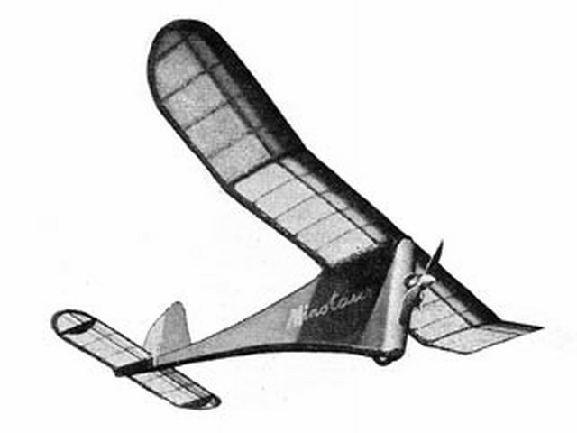 Minotaur (oz7393) by Dick Twomey from Model Aircraft 1951
