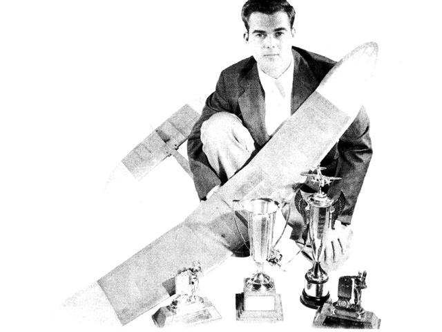Honey B (oz7416) by Joe Foster from Flying Models 1951