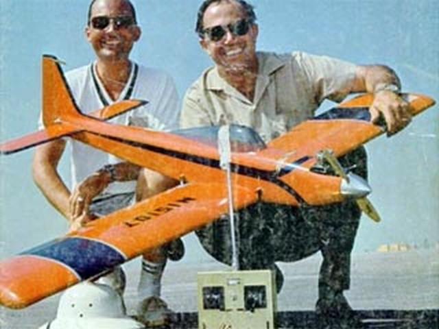 Kwik Fli Mk III (oz7431) by Phil Kraft from Model Airplane News 1968